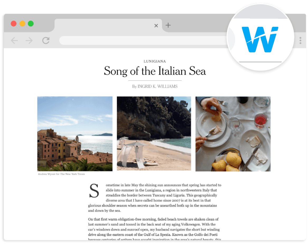 The Wakelet Browser Extension - Save, organize, share