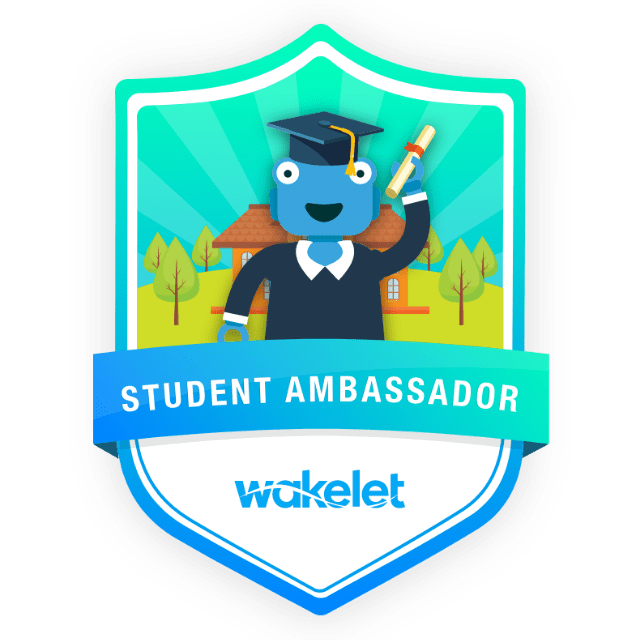 student ambassador badge
